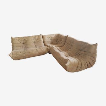Corner sofa Togo by Michel Ducaroy for Ligne Roset