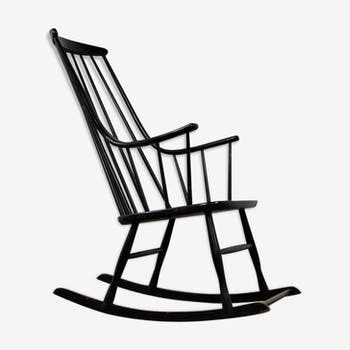 Rocking chair scandinave par Lena Larsson pour Nesto, 1958