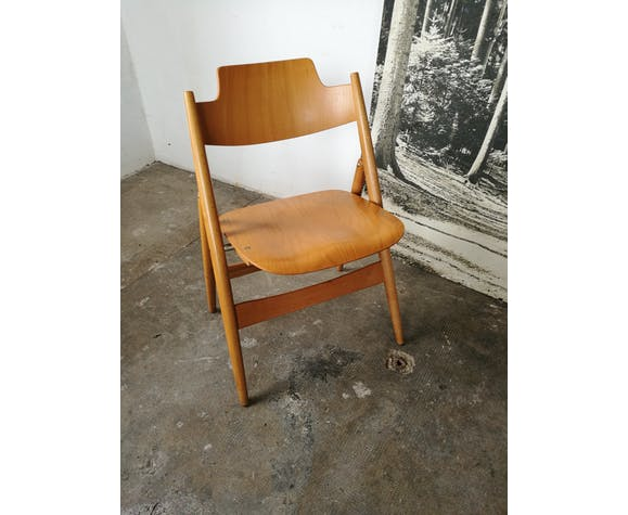 Chaise pliante Egon Eiermann SE 18