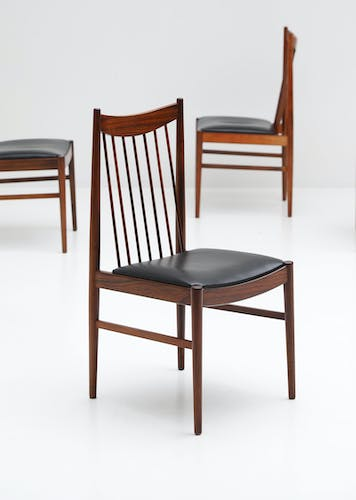 Chaises en bois de rose par Arne Vodder for Sibast, 1960