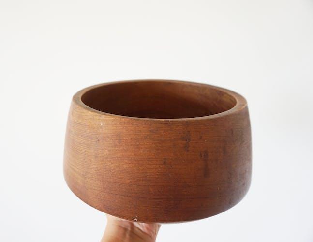 Plat en bois minimaliste