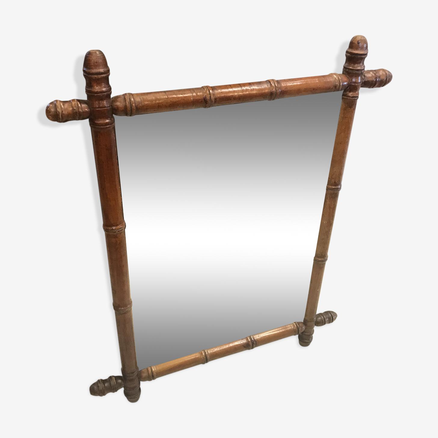 Mirror bamboo 77 x 62cm