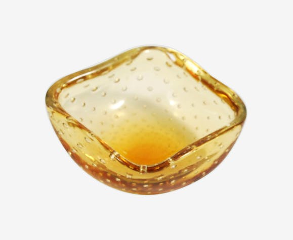 Italian bowl designed by Galliano Ferro, Murano Glass 1960s.