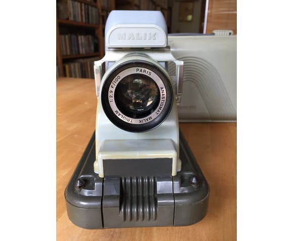 Malik Vintage slide projector, 60s
