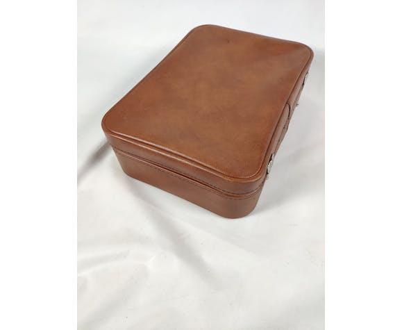 Vintage brown leather case