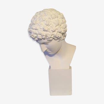 Apollon d'atelier en plâtre