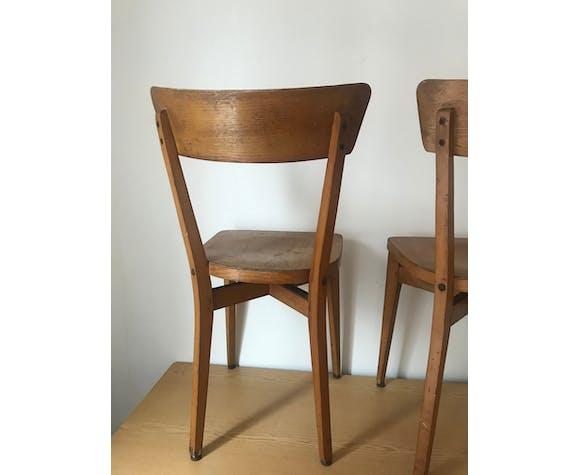 Duo de chaises bistrot