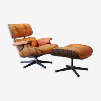 Lounge chair Charles & Ray Eames pour Mobilier International