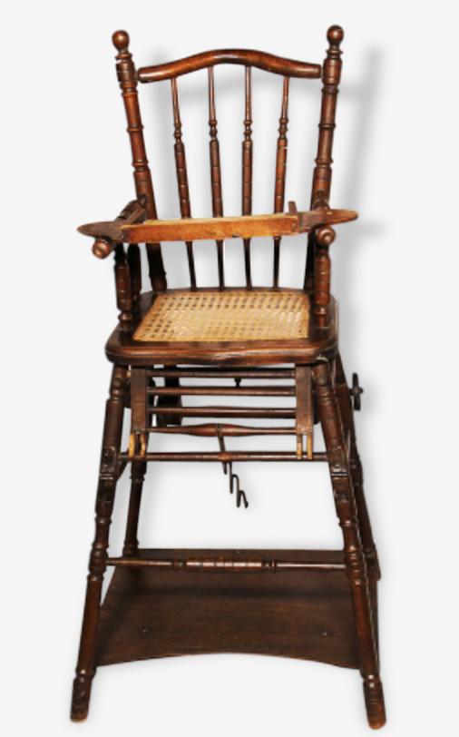 Chaise haute castor