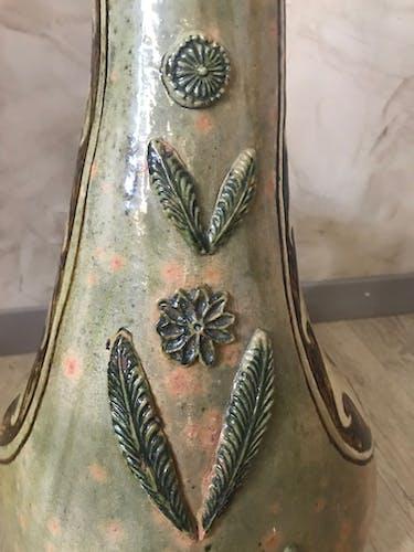 Coq en céramique
