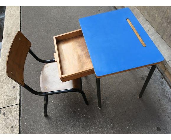 Bureau enfant et chaise vintage