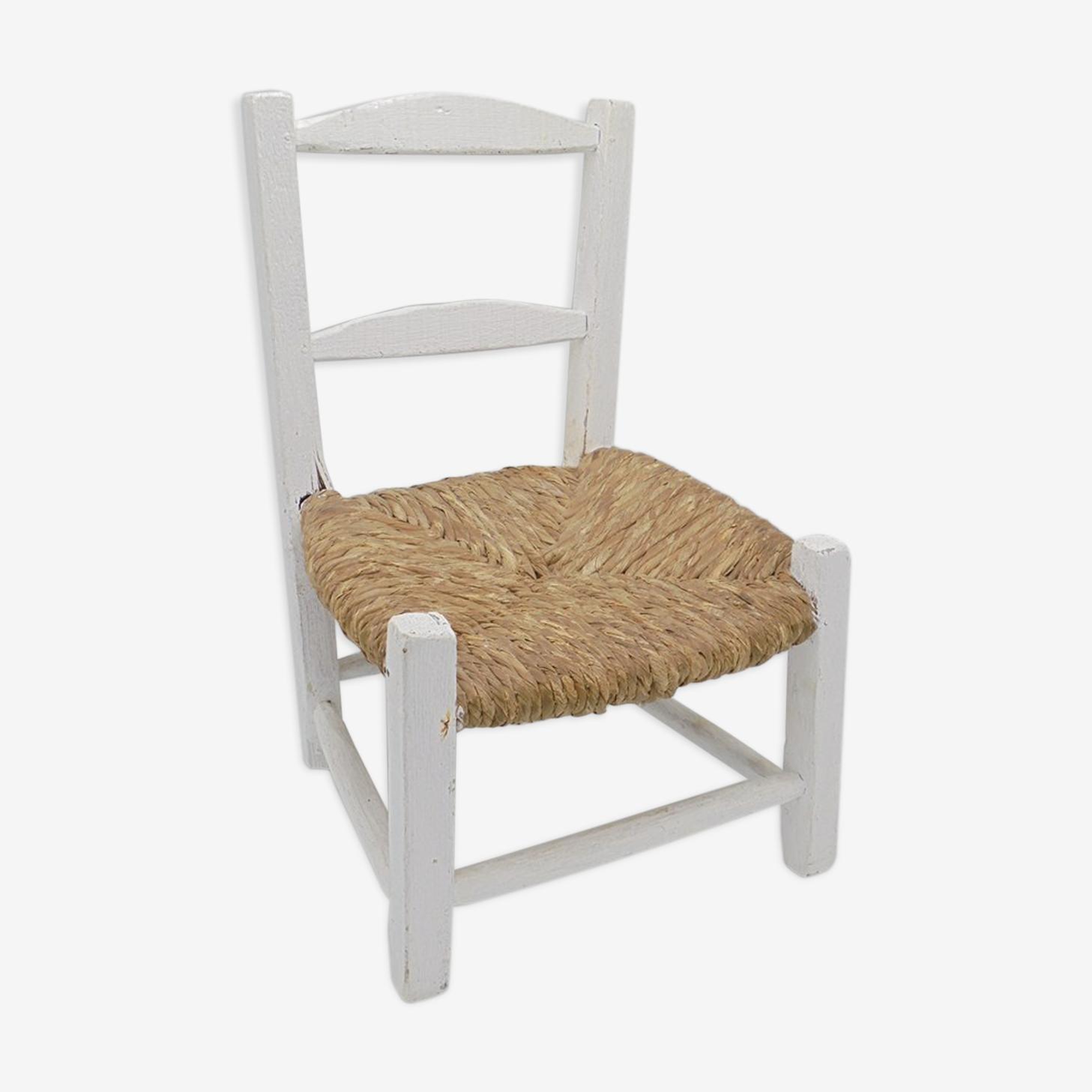 Chaise rustique pour enfant