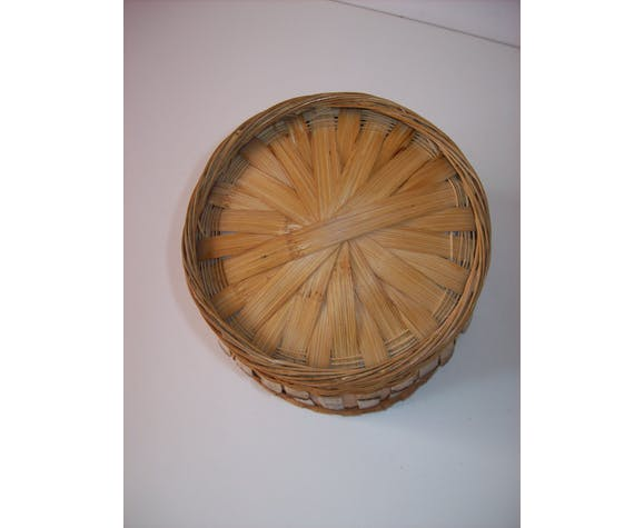 Rattan pot cover