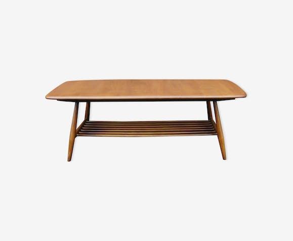 Table basse ercol scandinave bois mat riau bois for Table basse scandinave couleur