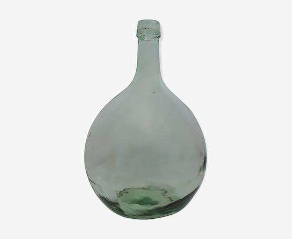 Ancienne Dame Jeanne 3L vert clair ronde