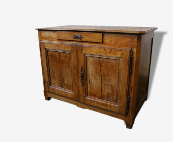 ancien buffet en bois massif merisier enti rement chevill bois bois mat riau bois. Black Bedroom Furniture Sets. Home Design Ideas