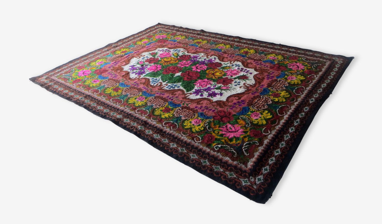Tapis kilim en laine - tapis boheme 347x219