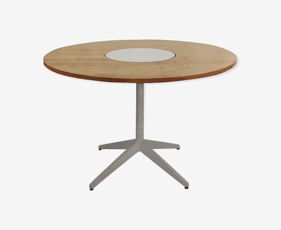 "Table ronde "" lazy suzanne""  de Georges Nelson pour Herman Miller"