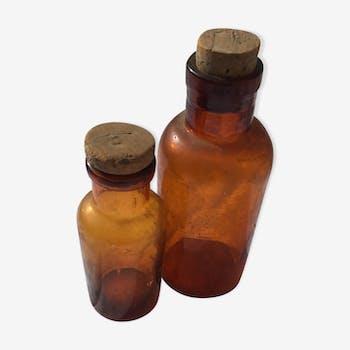 Flacons anciens pharmacie