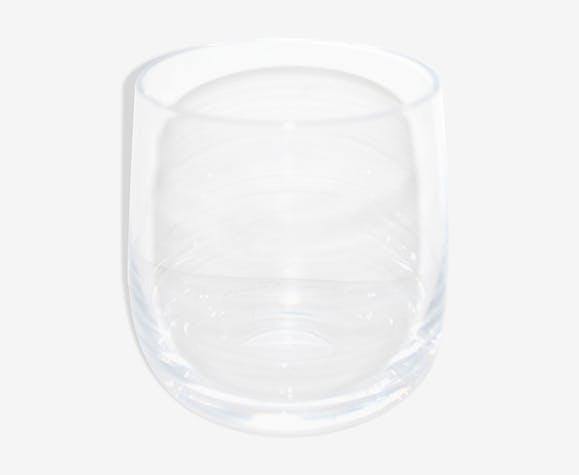 Verre à whisky en cristal soufflé Daum - Modèle Rhone Poulenc 1980
