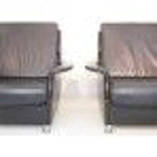 Paire de chaises longues  style Mad Men