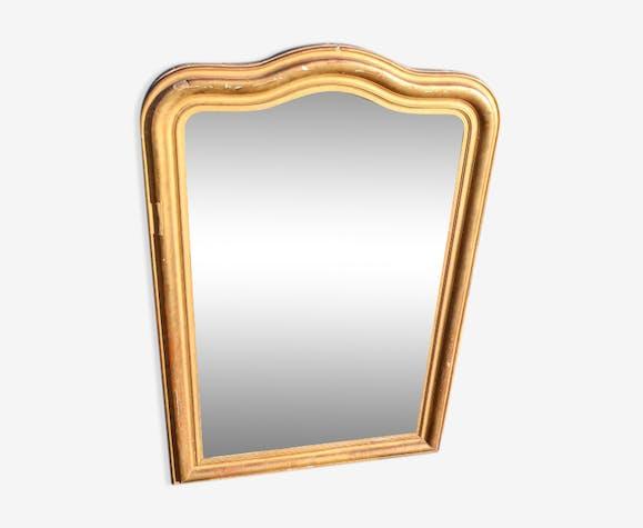 Golden 97x142cm mirror