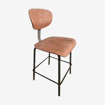 Chaise haute d'atelier