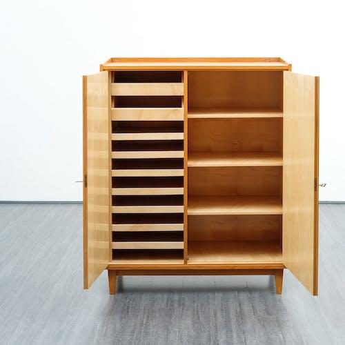 Restored 1950s linen cupboard