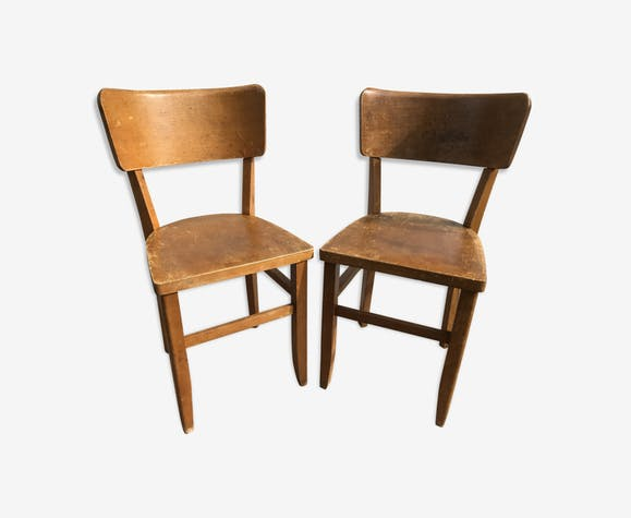 Chaises Ancienne Bistrot Annes 70