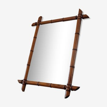 Miroir bambou 71 x 57cm