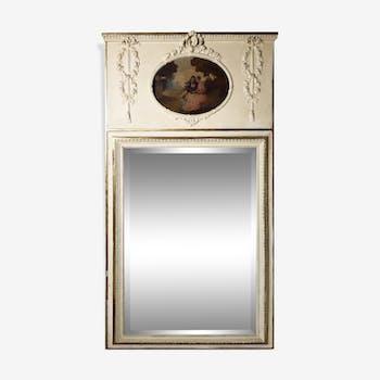 Trumeau 19th style Louis XVI 83x160cm