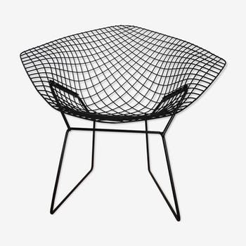 fauteuil chauffeuse bertoia harry vintage d 39 occasion. Black Bedroom Furniture Sets. Home Design Ideas