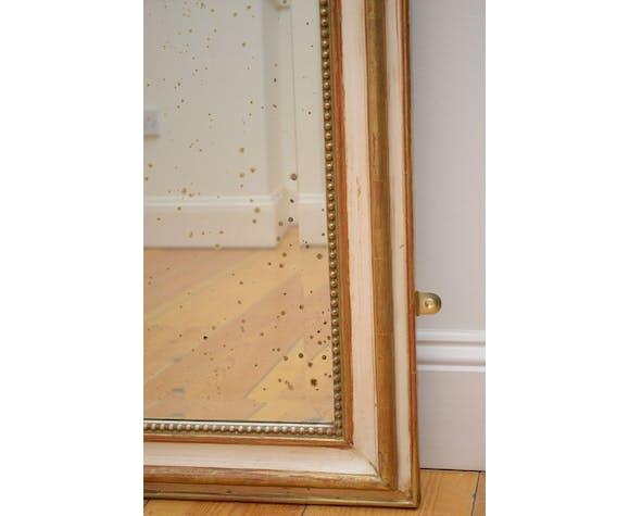 Century wall mirror XlXth