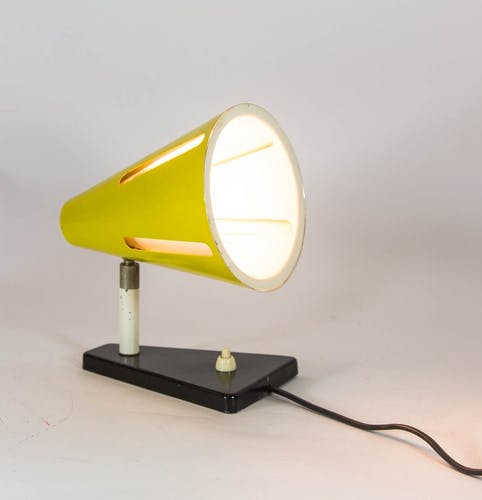 Sun Series office lamp for Hala, 1950s