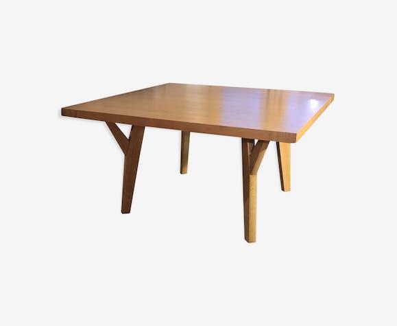 Table Christian Liaigre en chêne