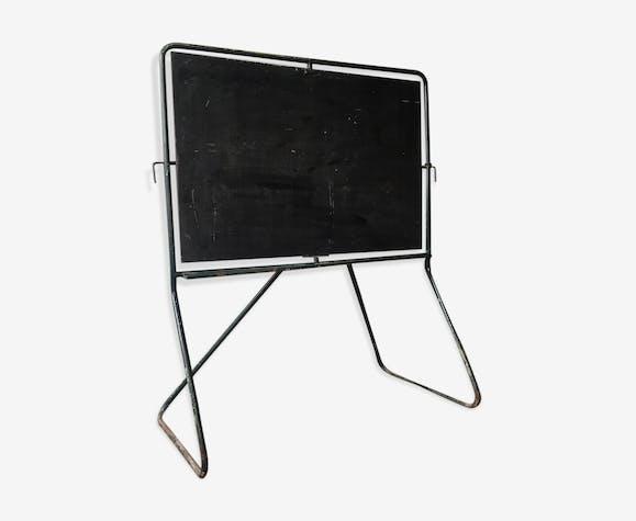 tableau cole sur pieds ann es 50 fer noir vintage jcaqoui. Black Bedroom Furniture Sets. Home Design Ideas