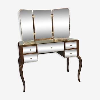 Coiffeuses vintage d 39 occasion - Coiffeuse en miroir ...