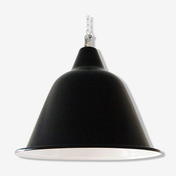 Boat lamp steel lacquered steel.