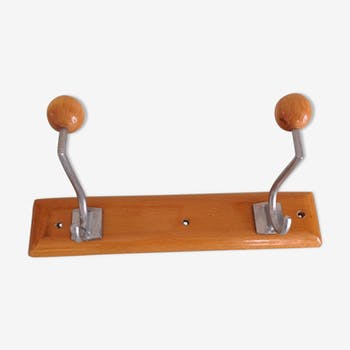 Coatrack with 2 heads vintage 50/60 years