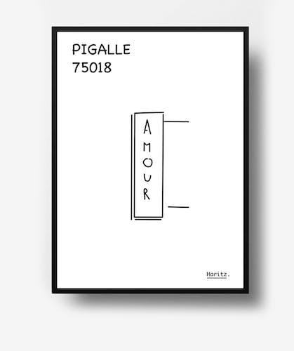 "Illustration, ""Pigalle"" Paris"