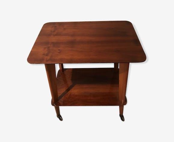 Table d'appoint double plateaux