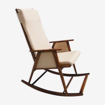 Chaise à bascule du milieu du siècle à partir des années 1960