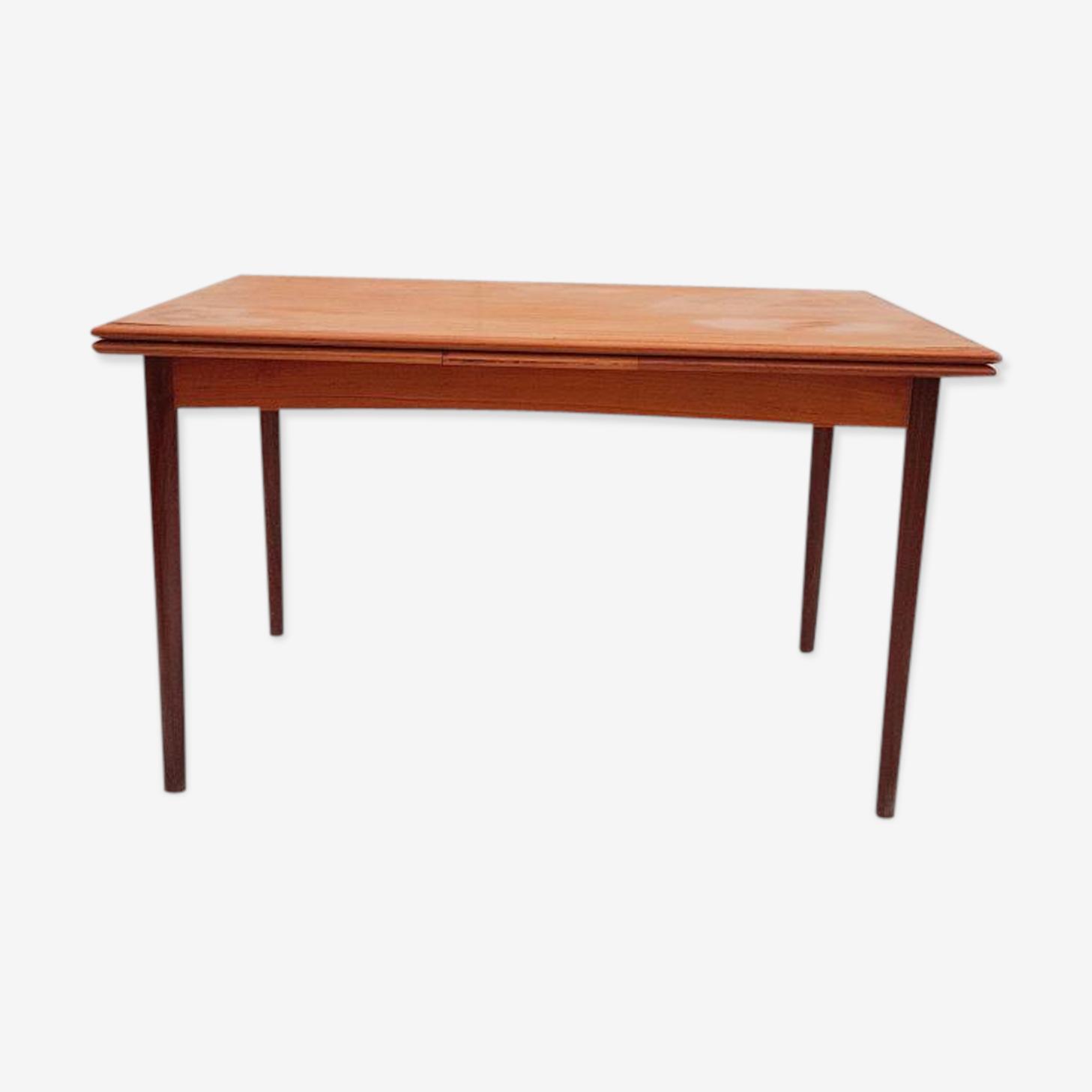 Table de salle à manger by Poul Hundevad pour Dogvad Mobelfabrik 1960s