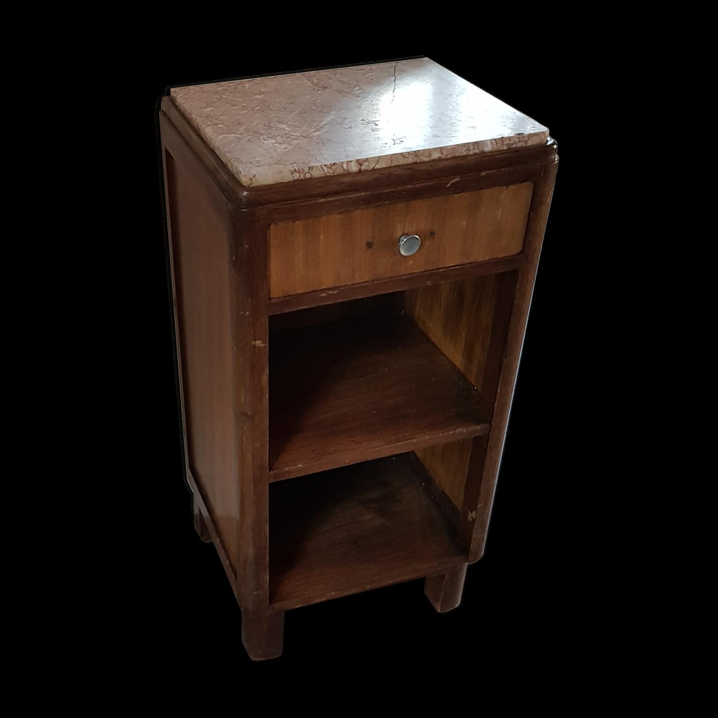 cheap table de chevet avec plaque de marbre with table de chevet marbre. Black Bedroom Furniture Sets. Home Design Ideas