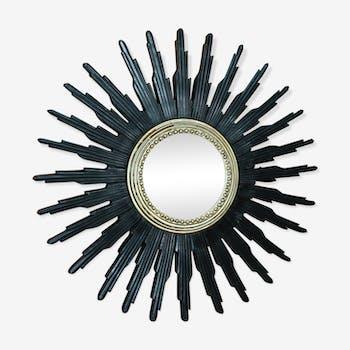 miroirs vintage et anciens d 39 occasion. Black Bedroom Furniture Sets. Home Design Ideas