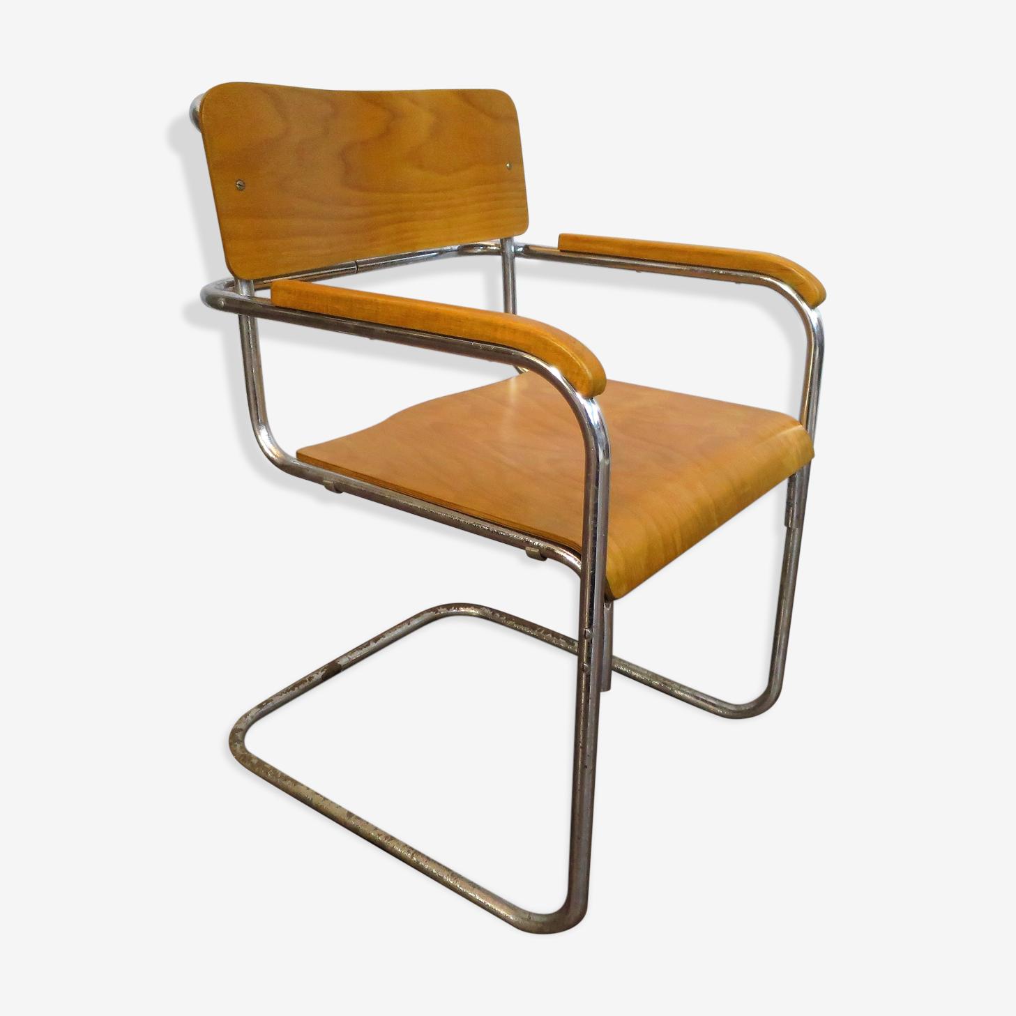 Fauteuil B34 de Marcel Breuer 1950