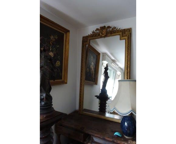 Miroir style Louis XVI XIXème siècle 85x143cm