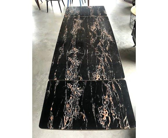Table réglable en hauteur et extensible 1960