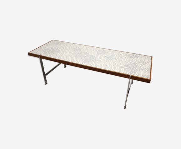 Table Basse Rectangulaire Avec Mosaique Selency
