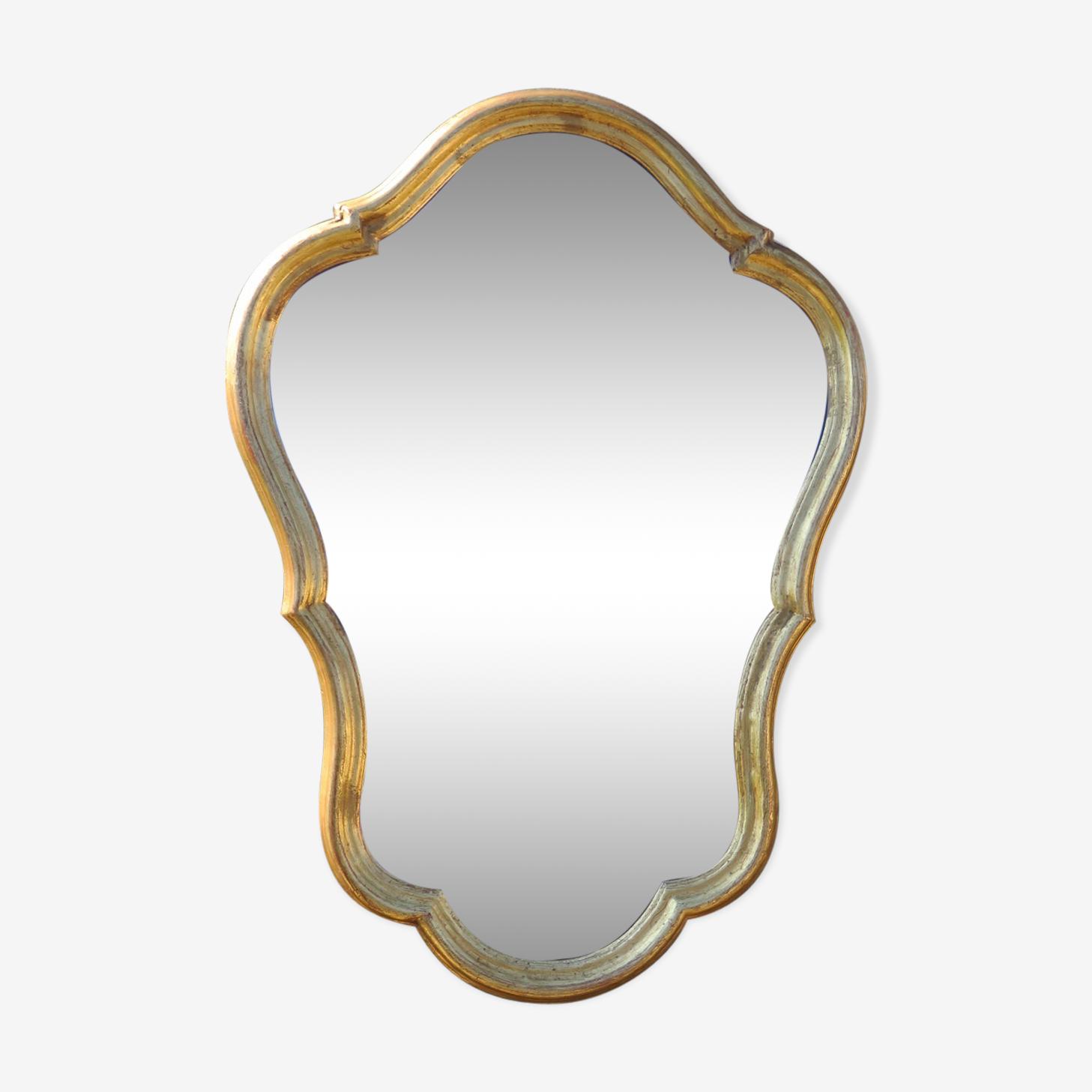 Miroir doré 71x50 cm
